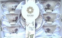 DIVINE FILIŻANKA 250ml 6+6 A02