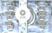 DIVINE FILIŻANKA 250ml 6+6 A04